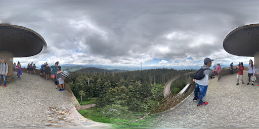 Google Photo Sphere of Clingmans Dome