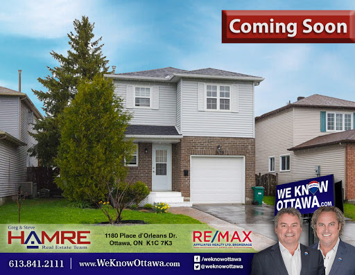 Real Estate - Commercial Hamre Real Estate Team RE/MAX Affiliates in Orléans (ON) | LiveWay