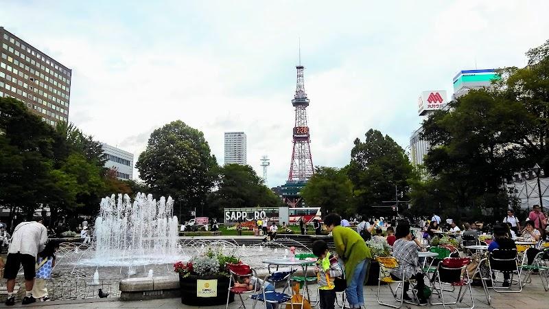札幌大通り公園 とうきびワゴン