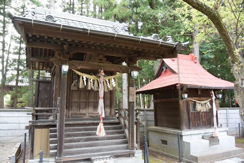 雷神宮(木ノ下白山神社)