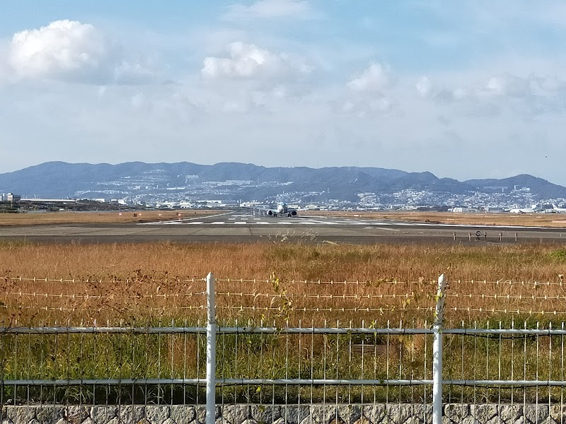 千里川土手 パーキング