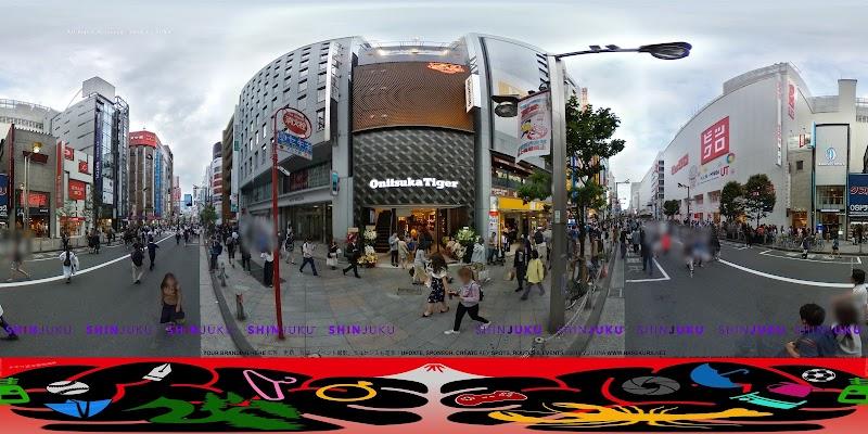 オニツカタイガー 新宿東店