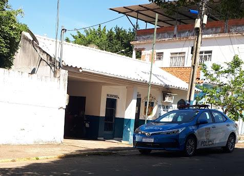 Fachada sede da Polícia Militar de São José de Ubá
