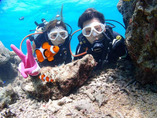 沖縄 青の洞窟 ダイビングショップ レイ
