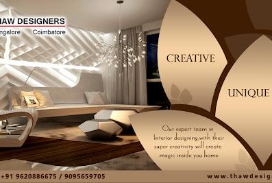 THAW DESIGNERS- Interior Designers in Coimbatore | Interior decorators | House,office, restaurant Interior design | Best architecture firms in coimbatore