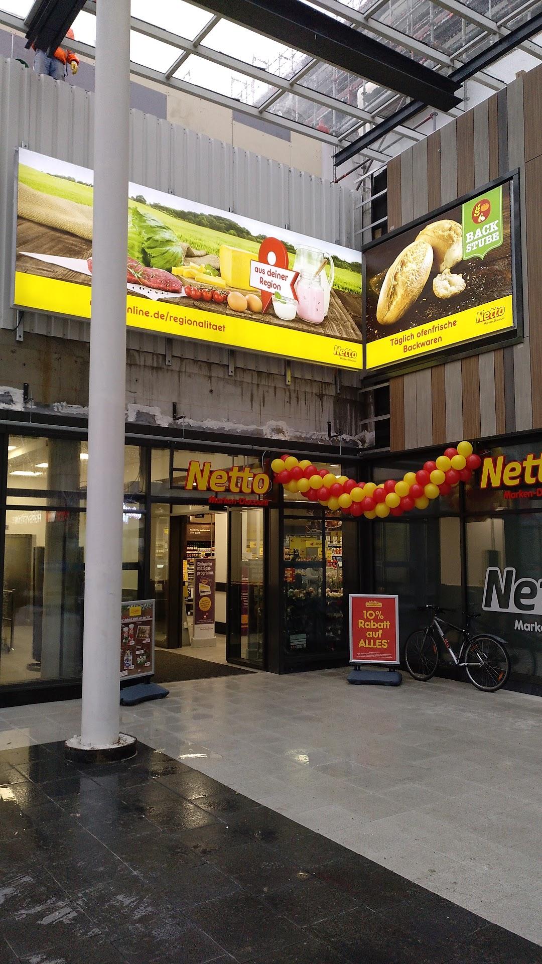 Netto Filiale in der Stadt Hamburg