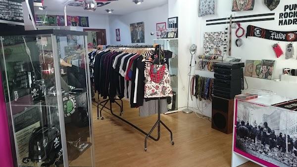 Punk Rocket Madrid Shop