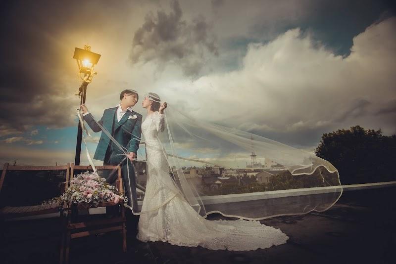 fly to the sky -wedding photo studio-