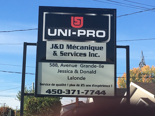 Auto Repair J & D Mecanique in Salaberry-de-Valleyfield (Quebec) | AutoDir