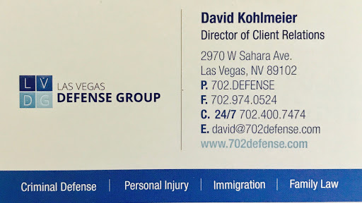 Criminal Justice Attorney «Las Vegas Defense Group», reviews and photos