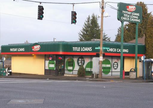 Rapid Cash in Portland, Oregon