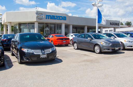Koons Mazda Of Silver Spring