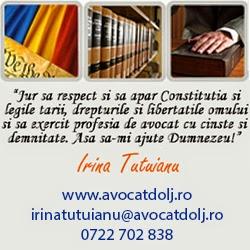 Irina TUTUIANU Law Office - Lawyer Dolj