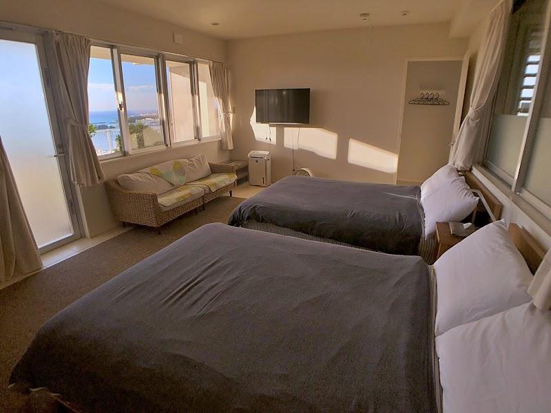 空と海ビュー 綺麗な海 オーシャンビュー一棟貸切 高級別荘レンタル