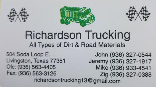 John K Richardson Trucking, 504 Soda Loop E, Livingston, TX 77351, General Contractor