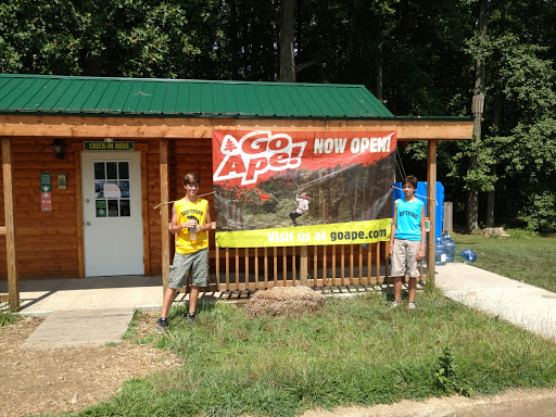 Recreation Center «Go Ape Zip Line & Treetop Adventure - Lums Pond State Park», reviews and photos, 1042 Howell School Rd, Bear, DE 19701, USA