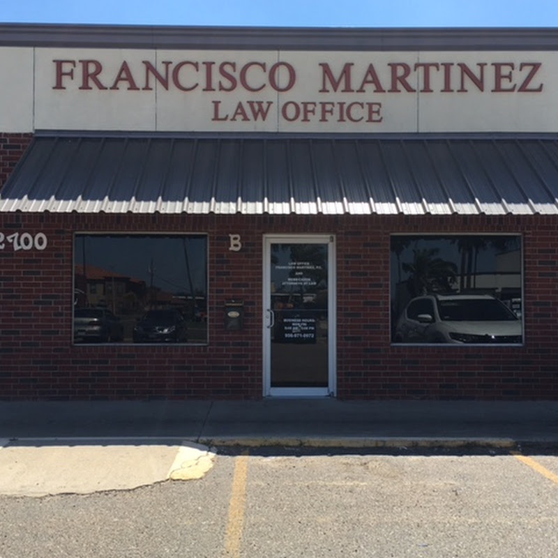 LAW OFFICE OF FRANCISCO MARTINEZ, JR