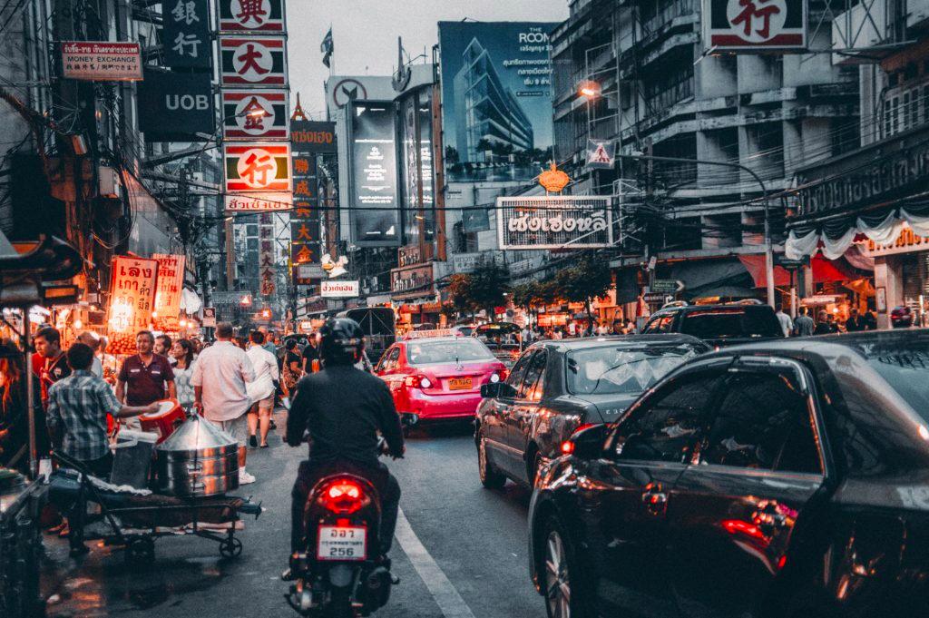 Banguecoque - a cidade mais popular da Tailândia