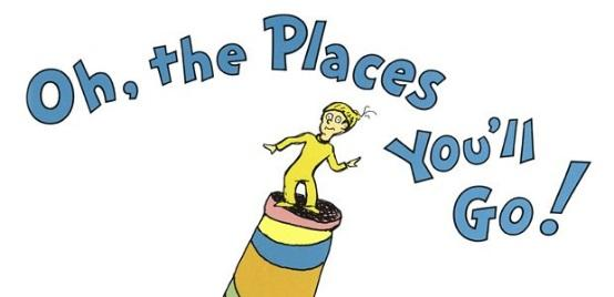 Image result for oh the places you can go