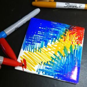Sharpie Painting