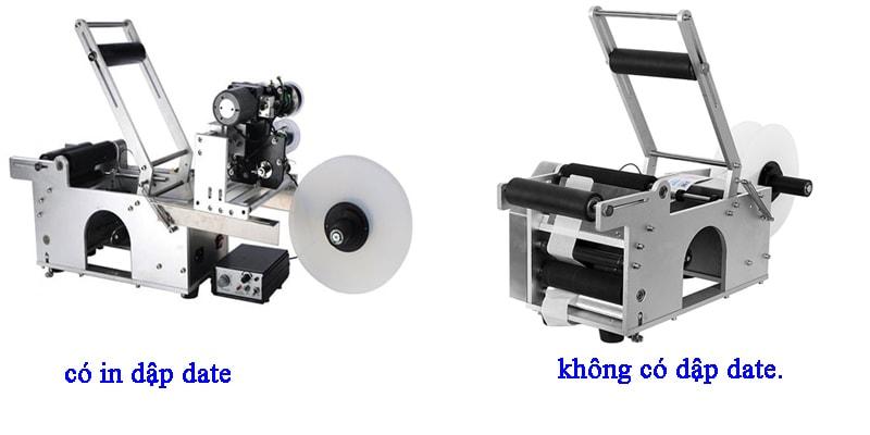 máy dán tem bán tự động