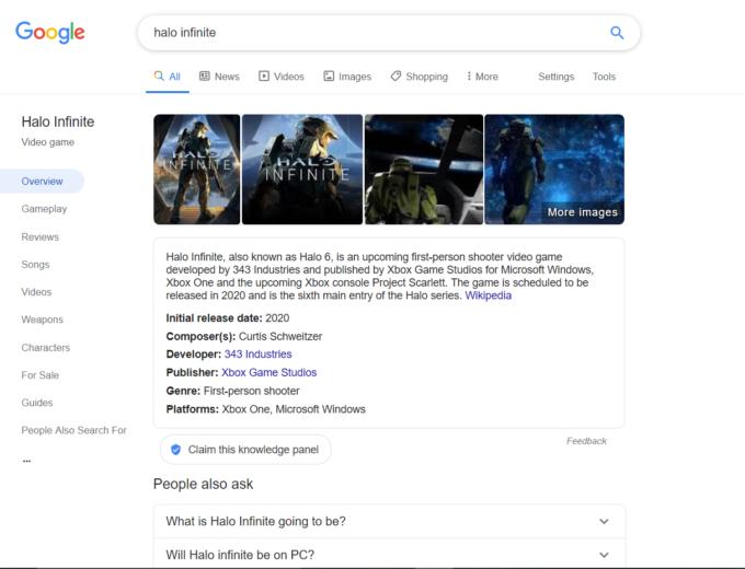 Google está probando una nueva interfaz de búsqueda para los videojuegos 2