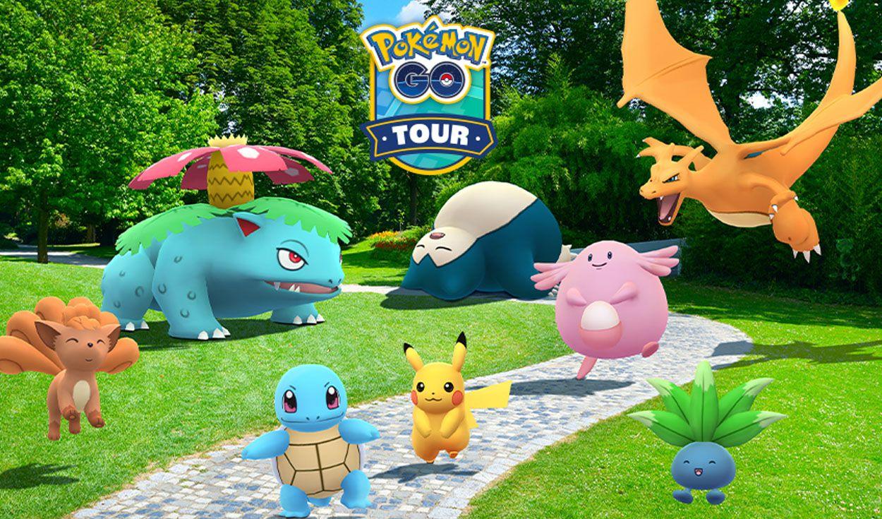Pokémon GO: conoce la fecha y características del Tour Kanto que se  celebrará en 2021 | La República