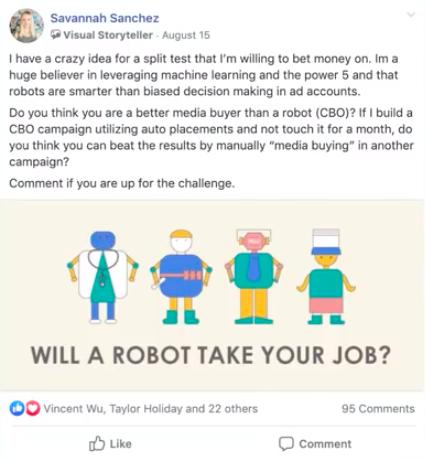 Сравнение робота и человека