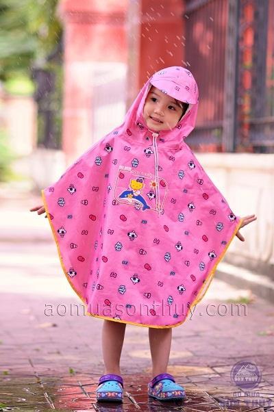 Áo mưa trẻ em siêu nhẹ