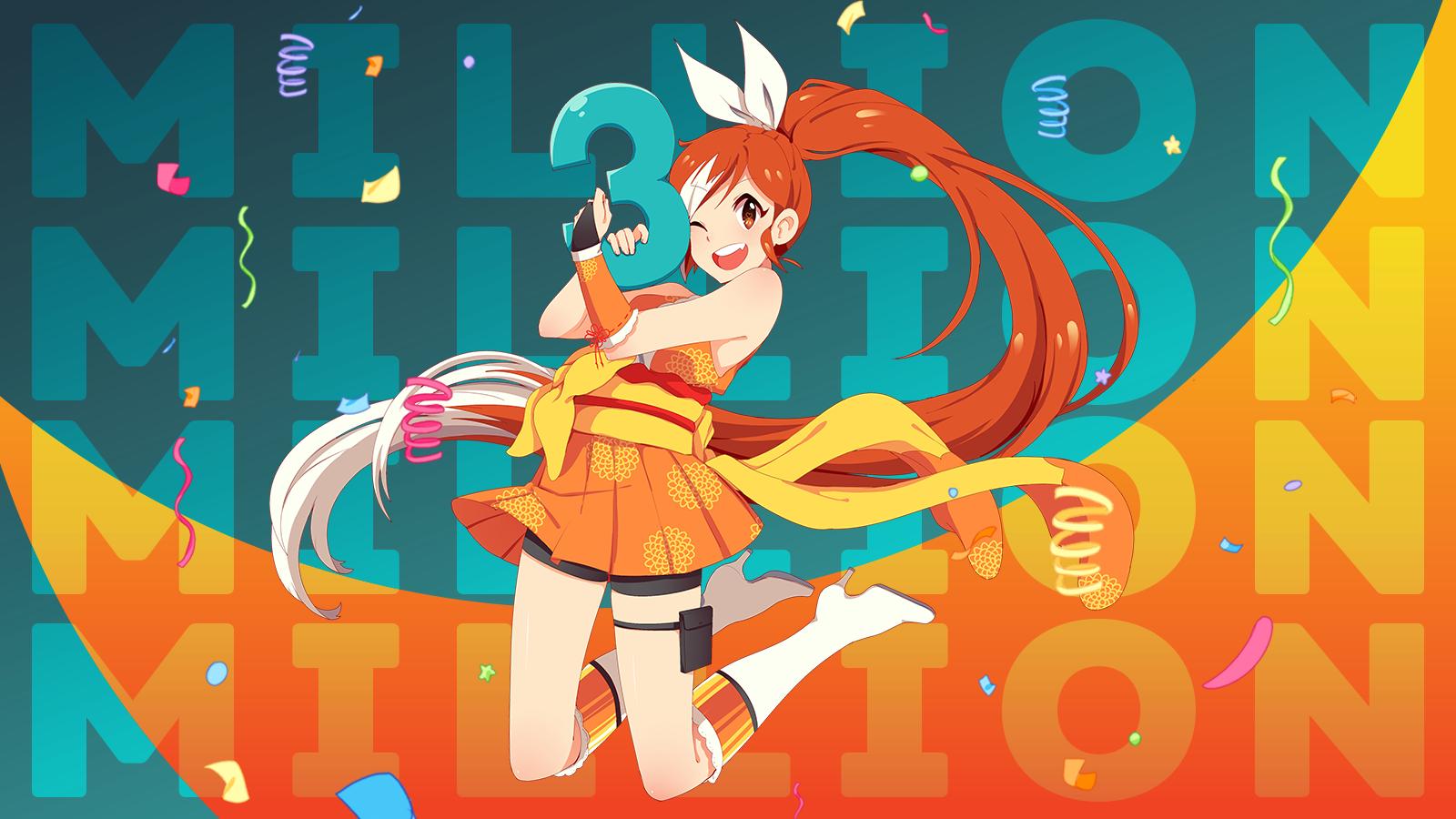 Crunchyroll - Crunchyroll Crosses Three Million Subscribers!
