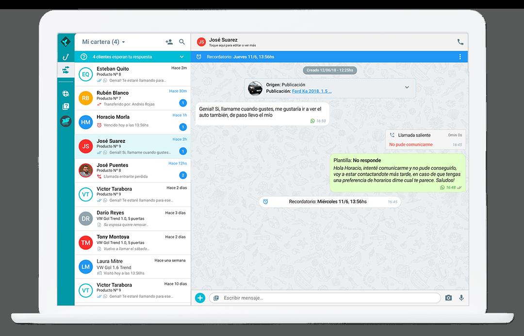 Sirena App: una vista a la interfaz conversacional de Sirena