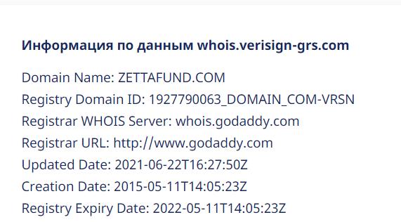 Отзывы о Zetta Fund и обзор коммерческих предложений