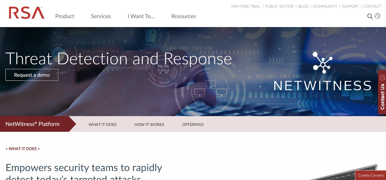 NetWitness SIEM Tools
