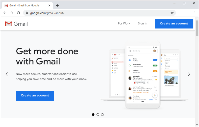 Gmail Tạo tài khoản mới
