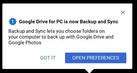 Article - Google Backup and Sync