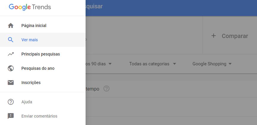 resultados google trends - inscrições