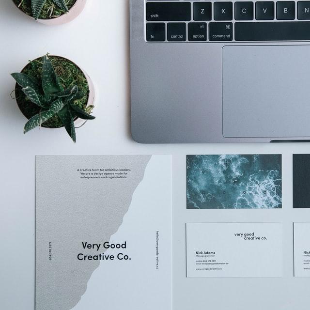 A minimalist brand kit