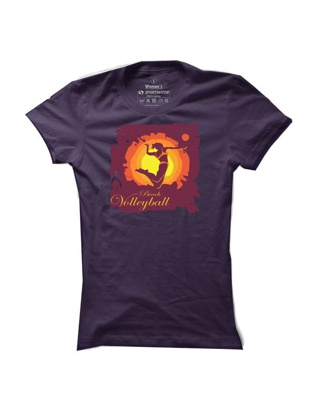 Sportinator: tričko na volejbal