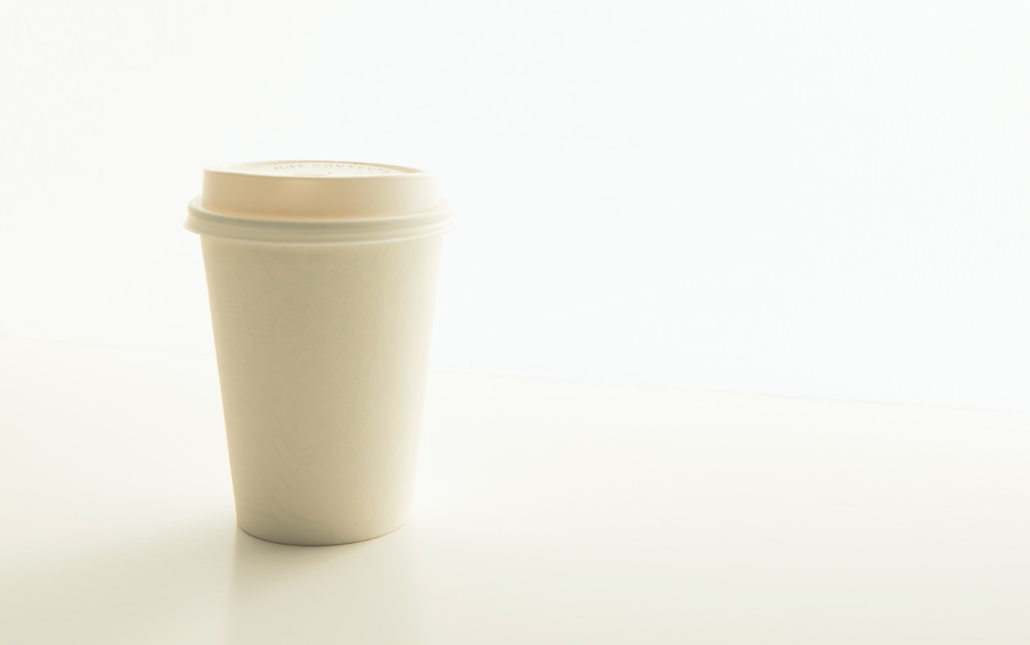 recyclable takeaway cups