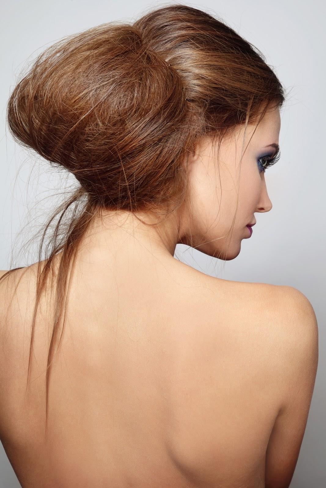 Messy Low Bun Trending Hairstyle