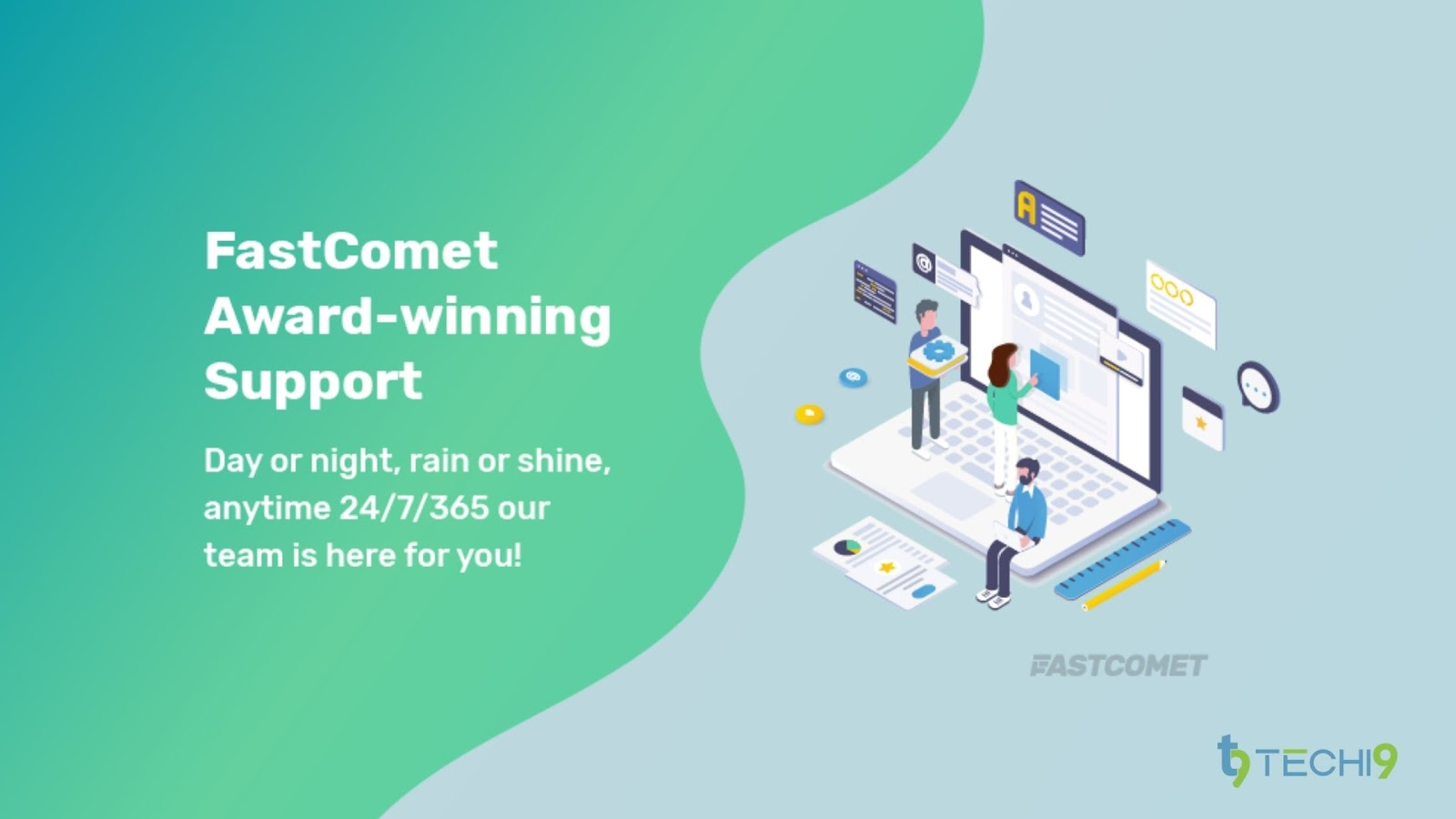 Quick and Responsive Personal Fastcomet Support