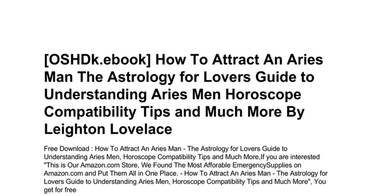 how-to-attract-an-aries-man-the-astrology-for-lovers-guide-to