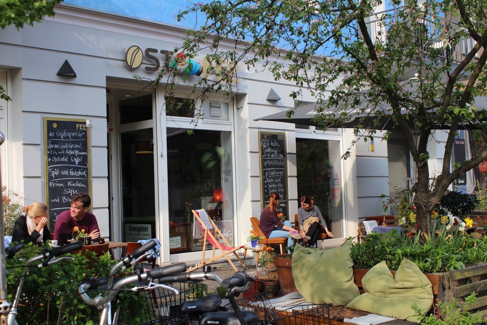 베를린의 특색있는 카페들