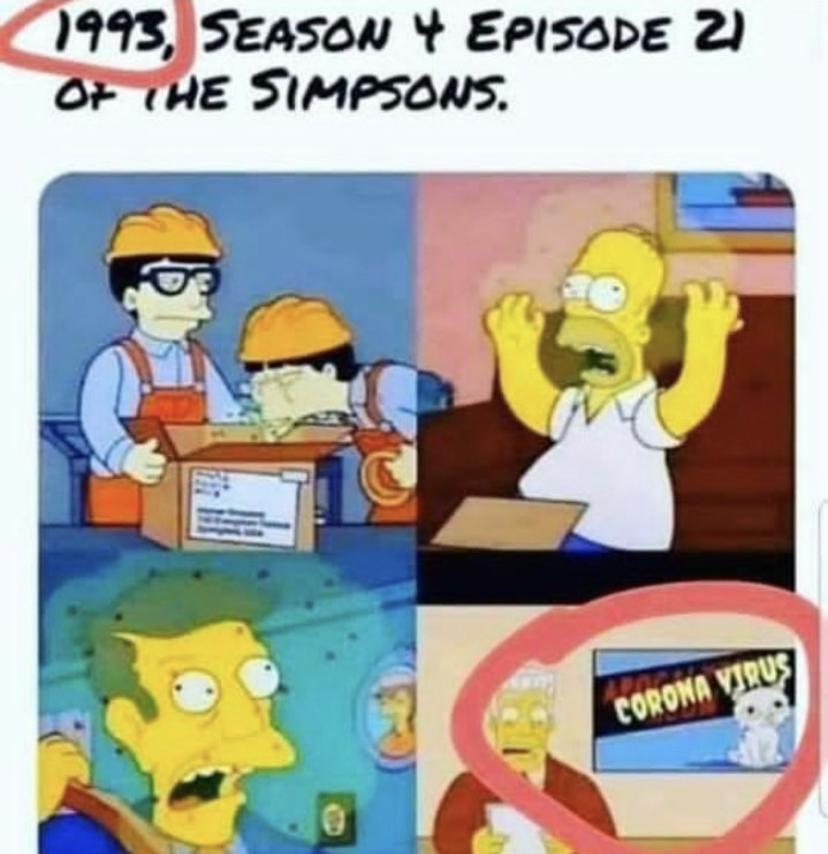 simpson Coronavirus Meme: