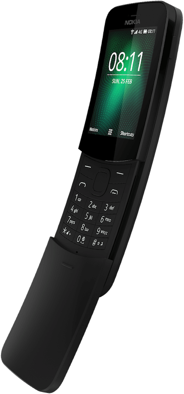 The 'Matrix phone' Nokia 8810 - old school cell phone