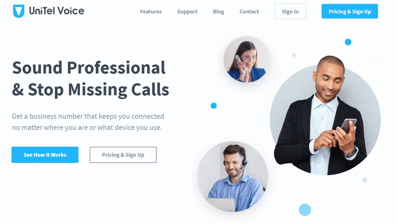 UniTel Voice is a Virtual Business Phone Solutions