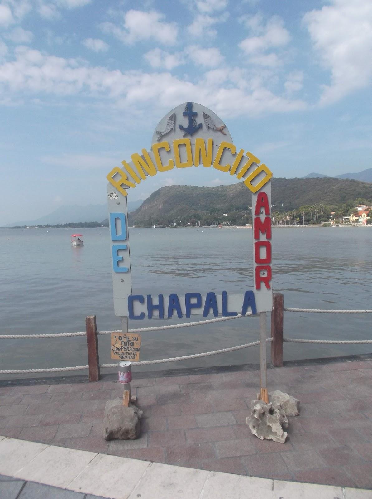 El lago Chapala en Chapala