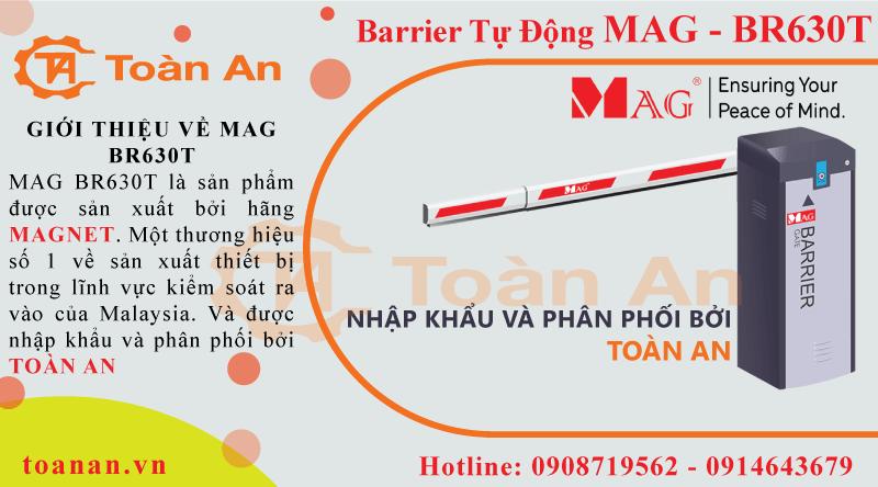 Giới thiệu về nguồn gốc xuất xứ của barrier tự động MAG BR630T