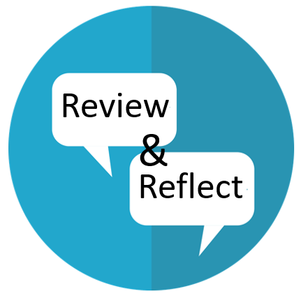 Review and Reflect: Goals — #reviewandreflect