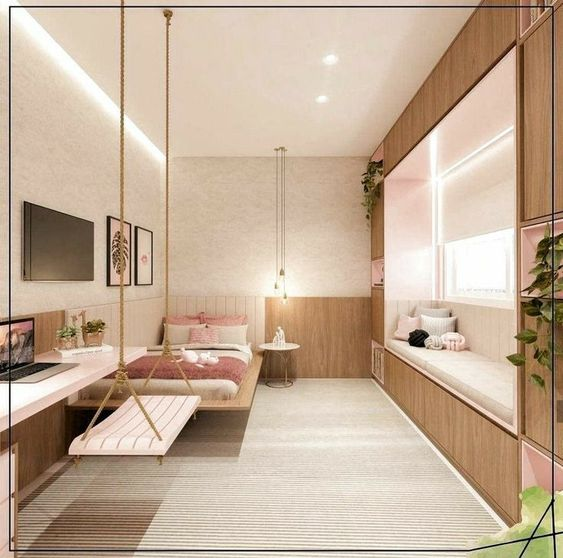 Bedroom Sitting Area Ideas with Working and Relaxing Seats
